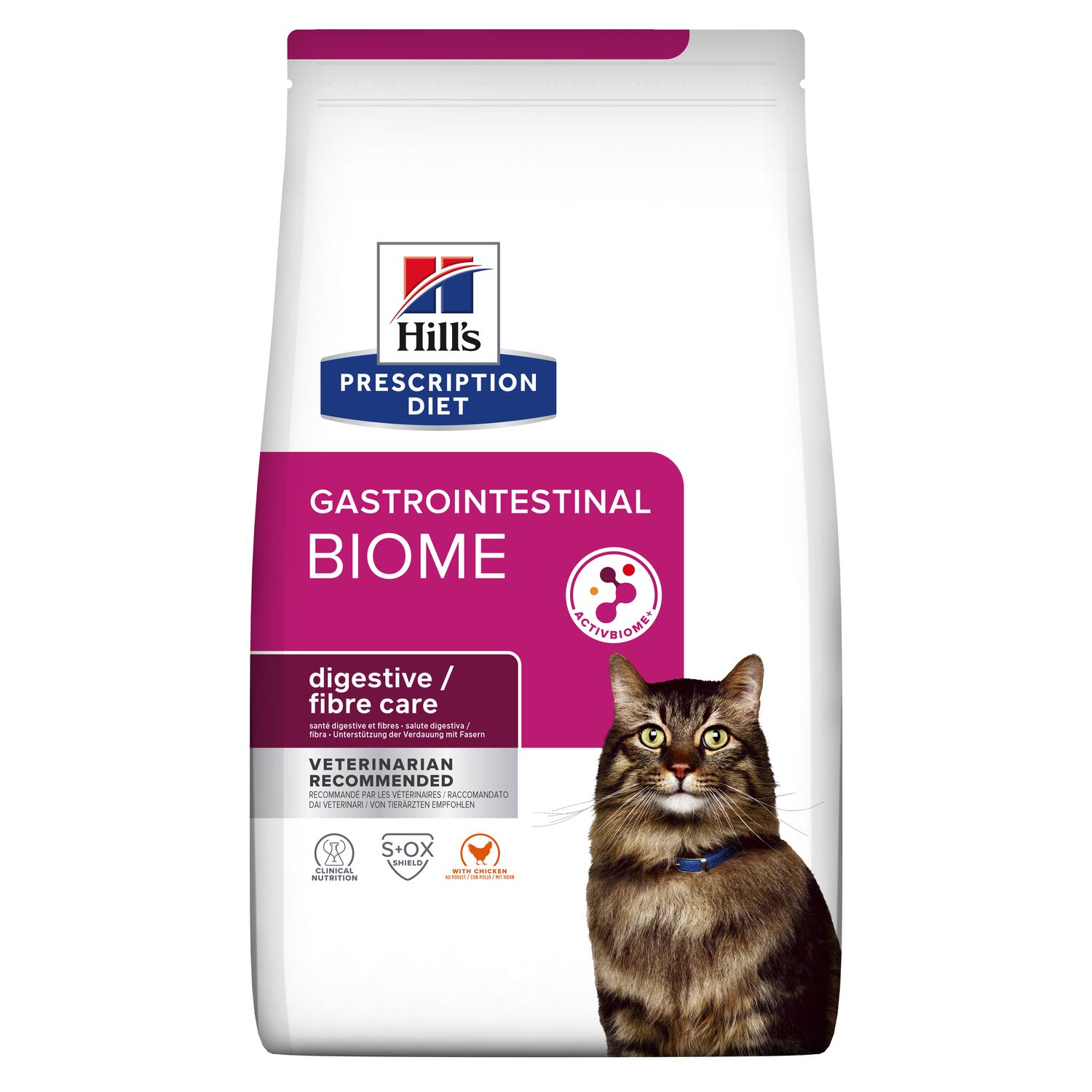 Hill S Prescription Diet Gastrointestional Biome Cat Food With Chicken