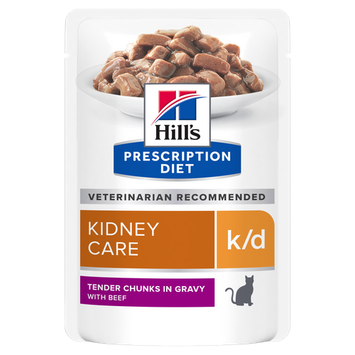Hill's™ Prescription Diet™ k/d™ Feline with Beef