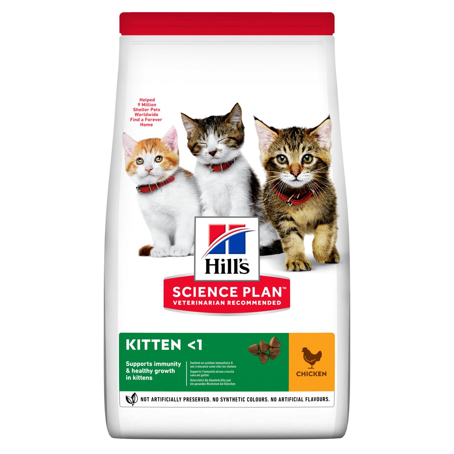 Hill S Science Plan Kitten Food Chicken